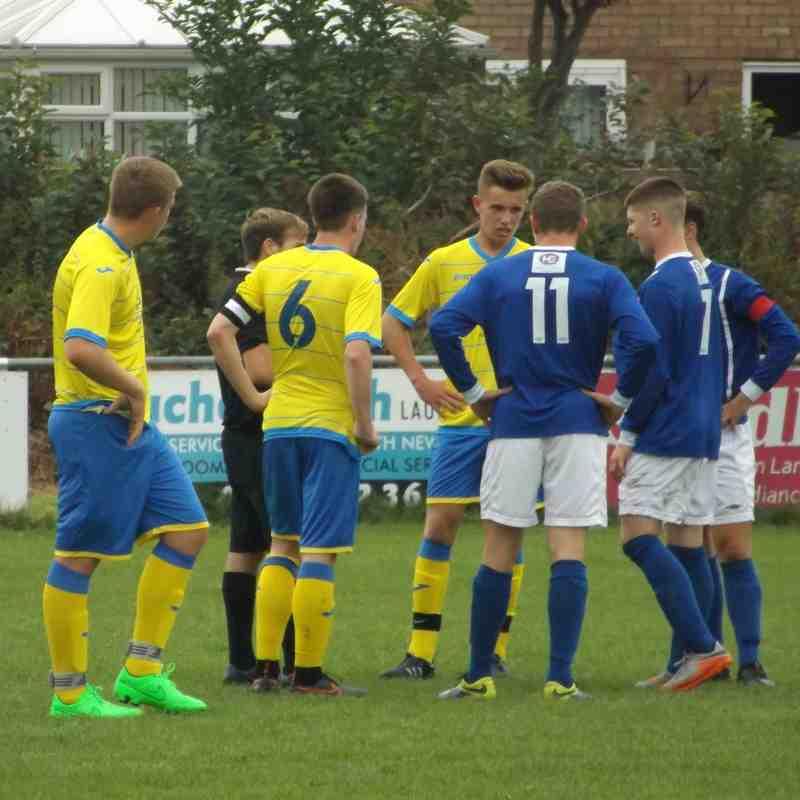 Ashton Athletic vs Warrington Town. 3-2 win Ashton. Photos by Sharon Lawrence