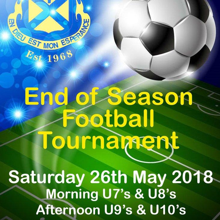 End Of Season Youth Football Tournament<