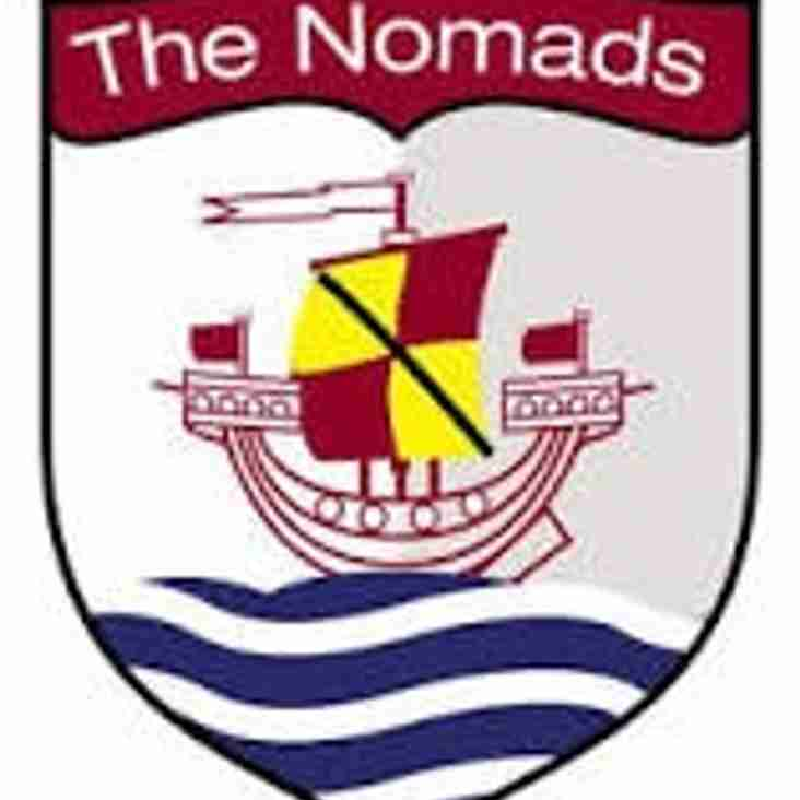 HARWOOD HITS SEVEN FOR RAMPANT CONNAHS QUAY NOMADS.
