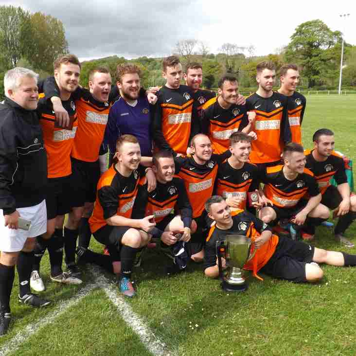 CONNAHS QUAY TIGERS WIN HALKYN CUP.