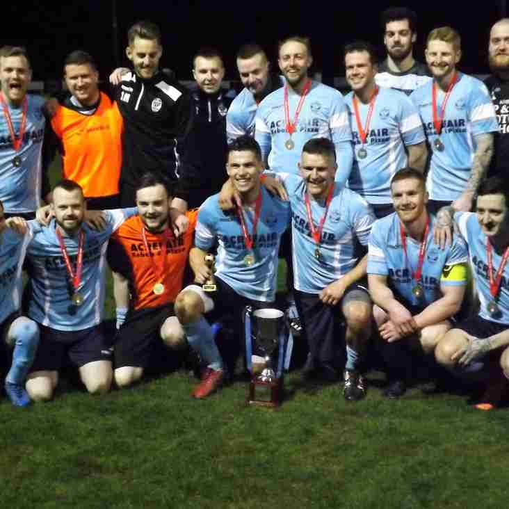 Cefn Mawr Rangers win Presidents Cup..