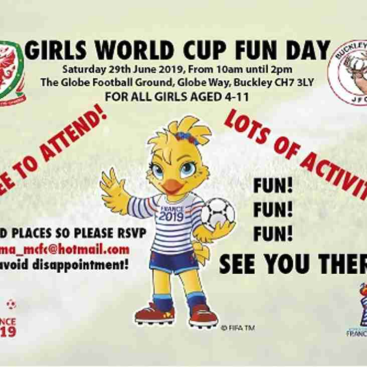 WORLD CUP DAY FOR GIRLS
