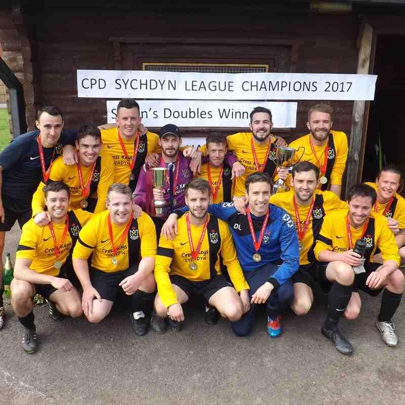 CPD Sychdyn 2016/17 Champions