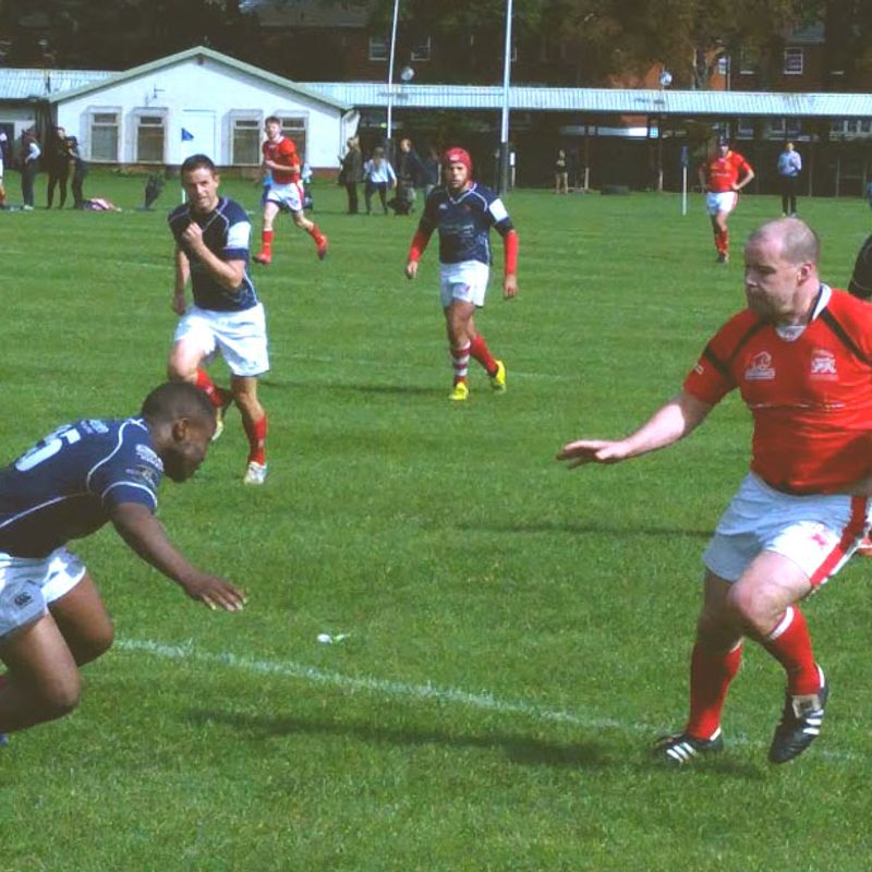 Druids (2nd XV) lose to a strong London Scottish Extas B side