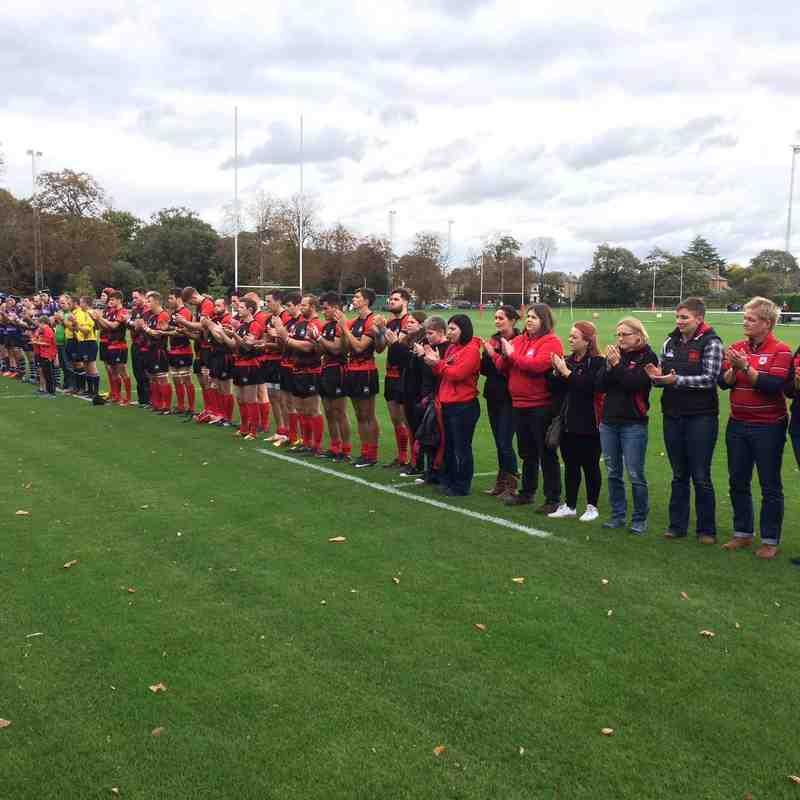 1st XV London Welsh v Barnet 07.10.2017