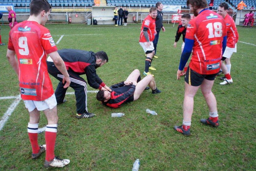 London Welsh XV v Llanelli Warriors