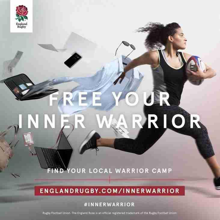 London Welsh Women's Inner Warrior Camp