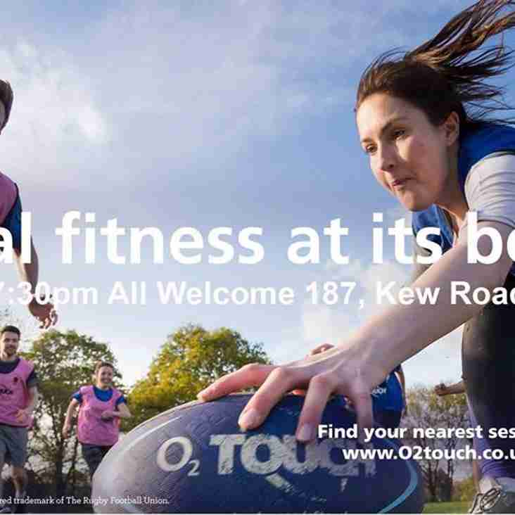 Summer O2 Touch Rugby at Old Deer Park