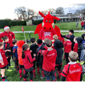 Santa made an early visit to London Welsh!
