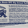 NEW | London Welsh Annual Big Raffle