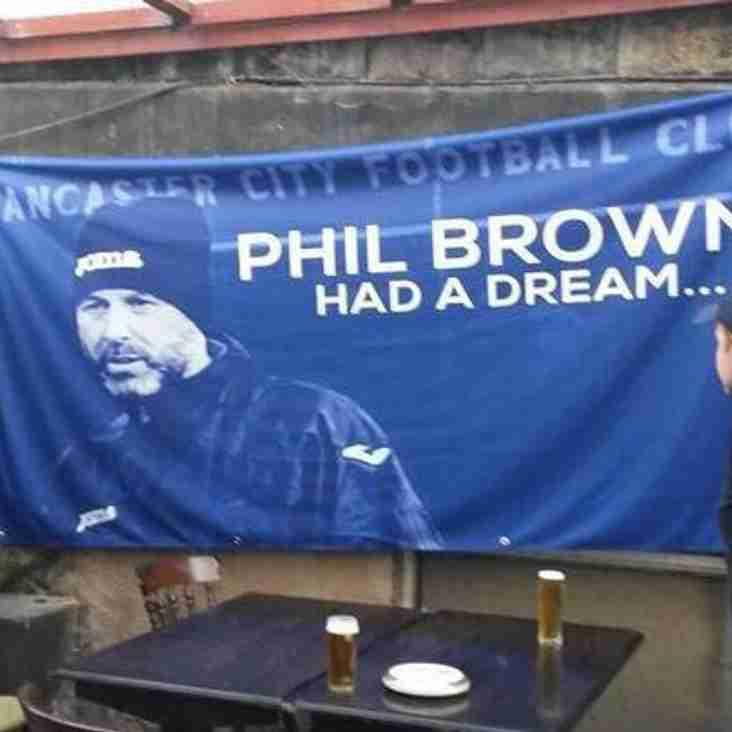 Thankyou Phil Brown!