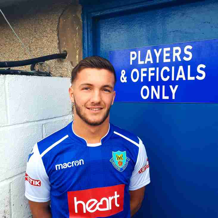 NEW SIGNING: Local lad Dawson finally joins the Dollies