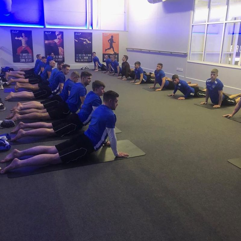 Team Prepares to stretch their current form
