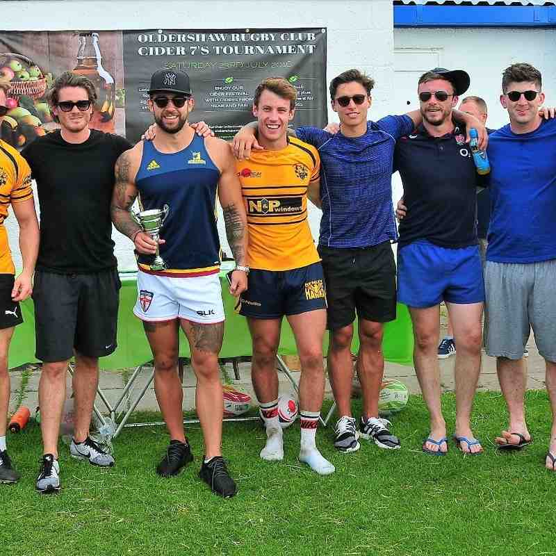 Oldershaw Rugby Club Cider 7's Tournament 2016
