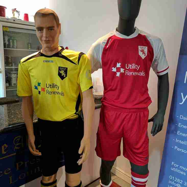 The new kits for 2017/18 season unveiled at the end of season awards night