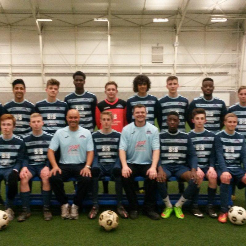 Under 17's beat Harborough Town 8 - 1