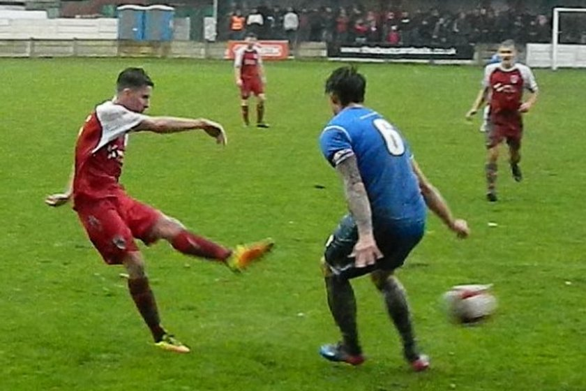Colne Sink the Rams at the Riverside