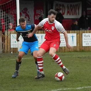 Harry Heads the Winner for Colne