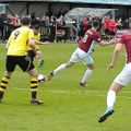 Colne Come a Cropper at South Shields