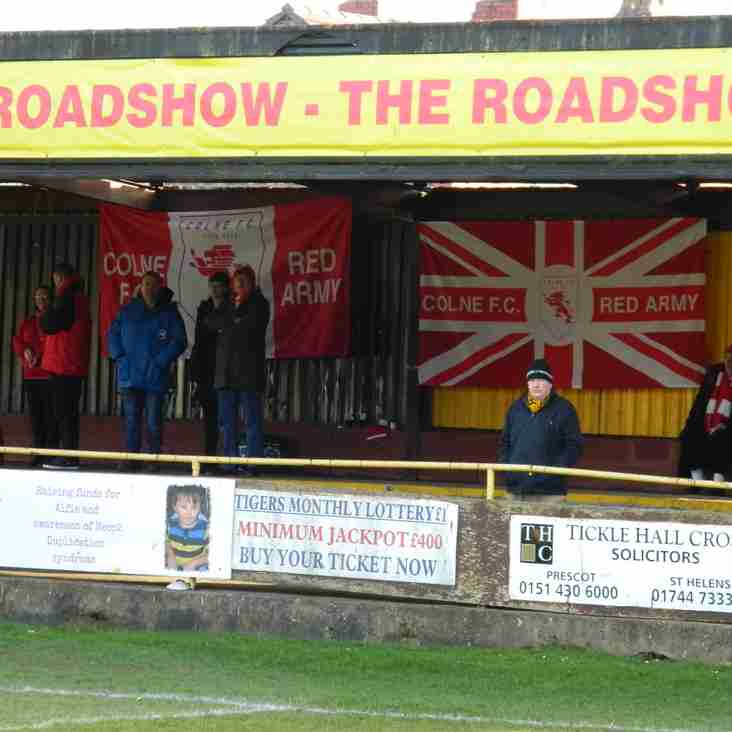 Reds on the Road at Mossley next Saturday