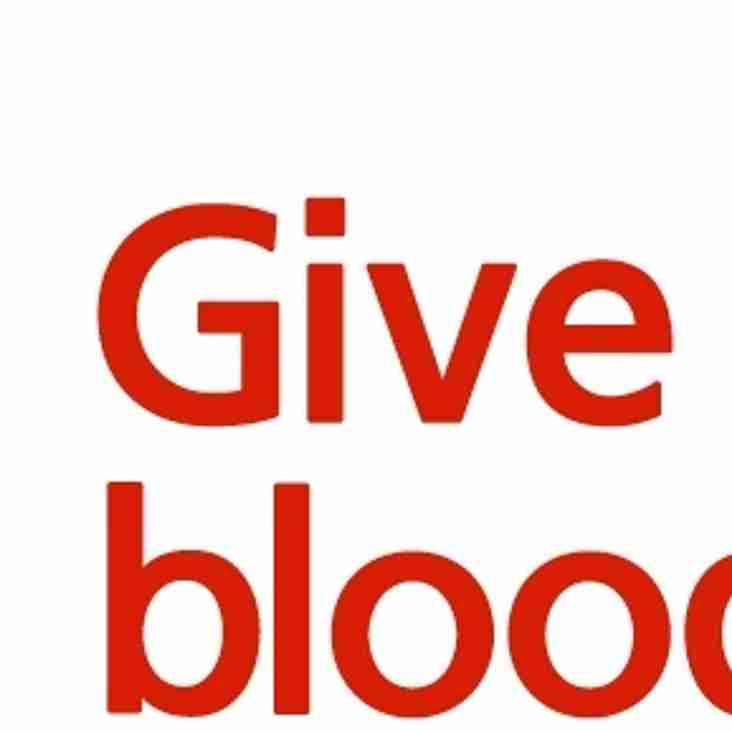 BLOOD DONATION AT LAUNCESTON RUGBY CLUB
