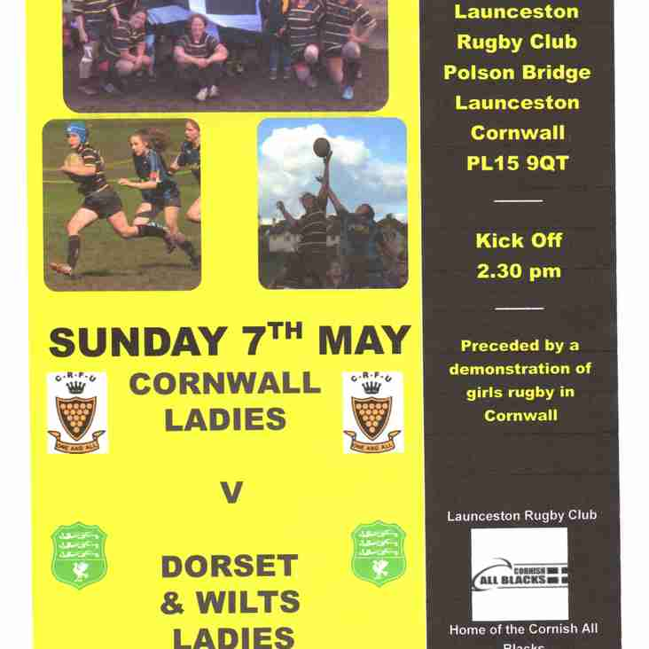 CORNWALL V DORSET & WILTS LADIES