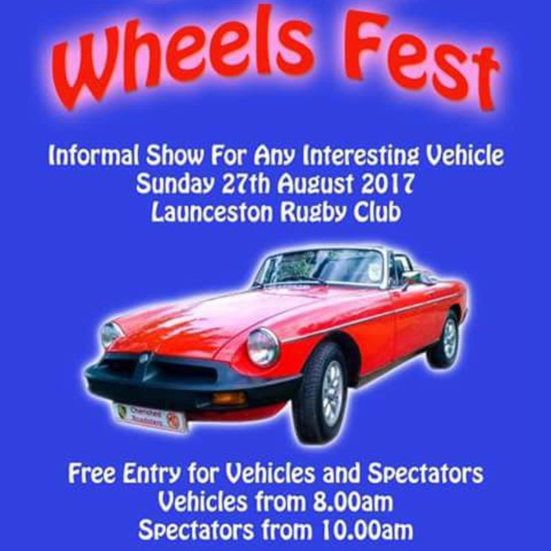 WHEELS FEST SUNDAY 27TH AUGUST