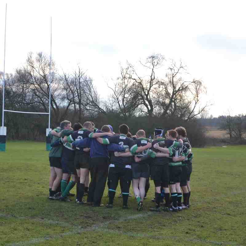 4's v Selby 17th January