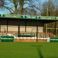 York RUFC - The Jack M Wood Memorial Stand