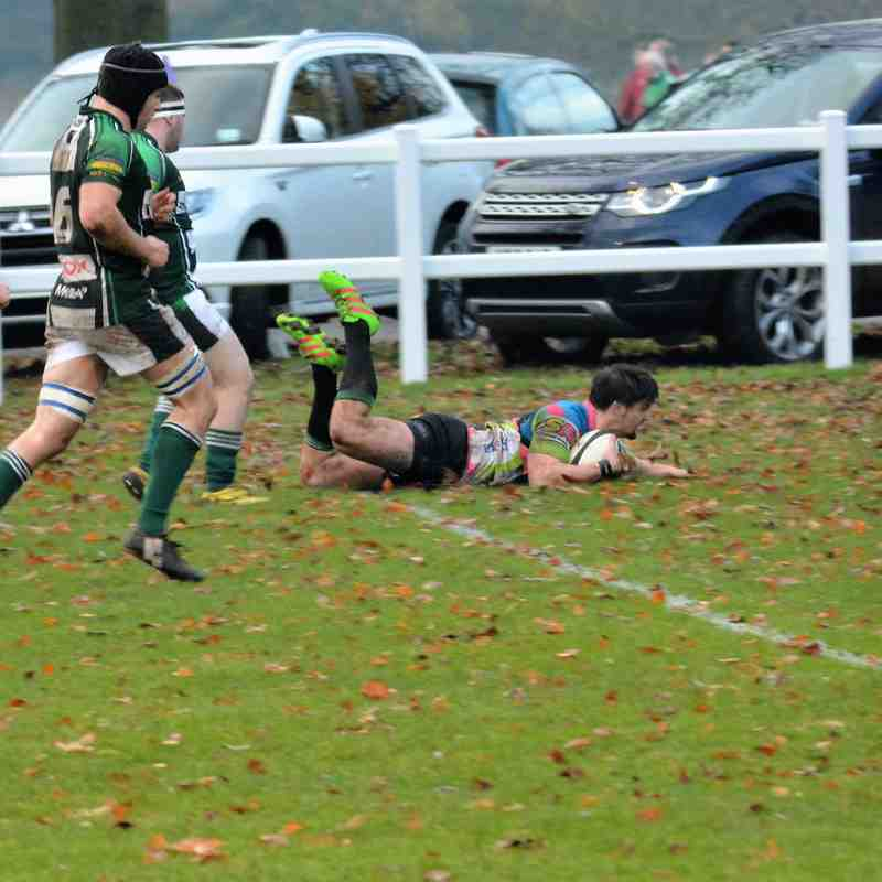 York RUFC  v Beverley RUFC, 12th November 2016