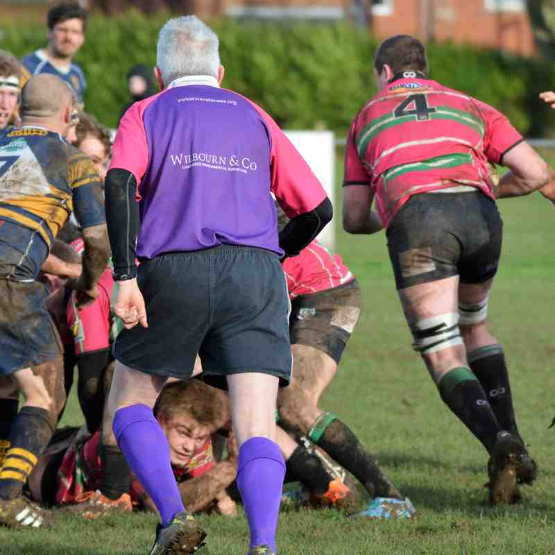 Bridlington v York, 25th February 2017. Yorkshire Shield
