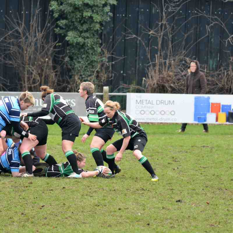 Ripon Women v York Women, 14th January 2018