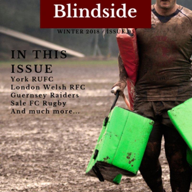 'Rugby Blindside' Newsletter.