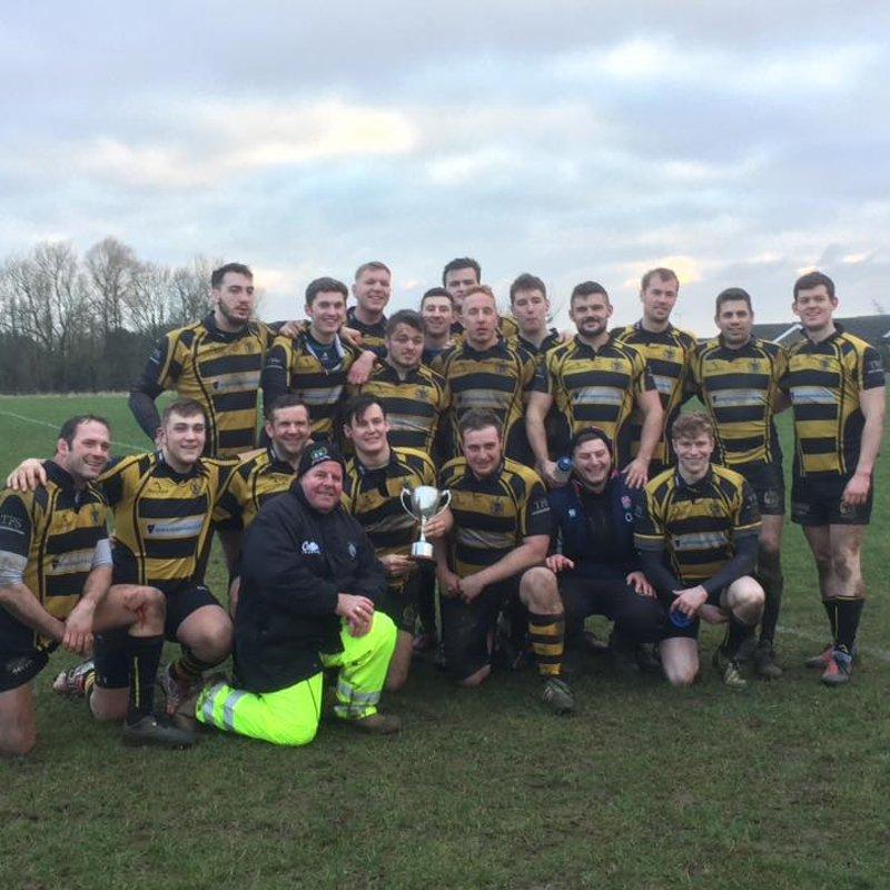 Staghounds beat Nuneaton 2nd XV 20 - 10