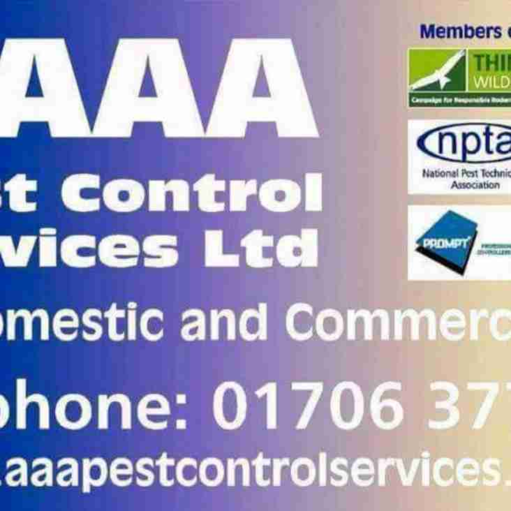 SPONSOR SPOTLIGHT - AAA Pest Control