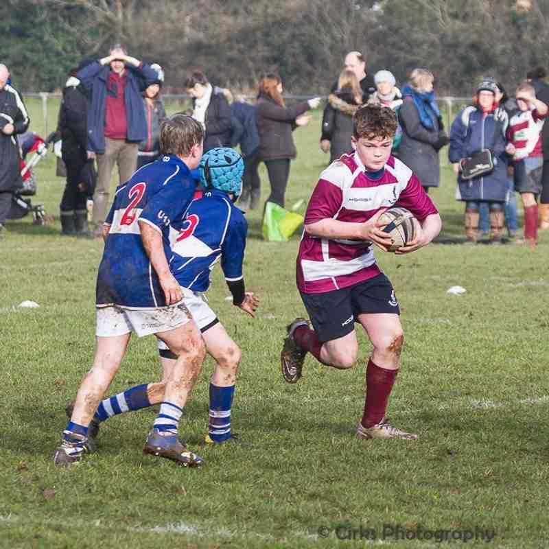 Under 13 v Bishops Stortford - 8th January 2017