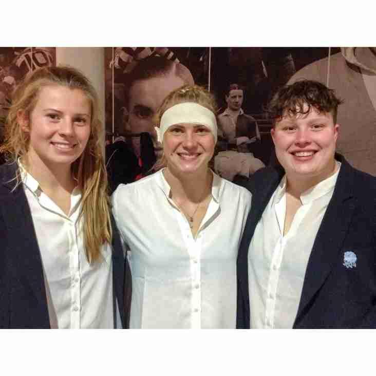 Welwyn Trio Celebrate After England Success