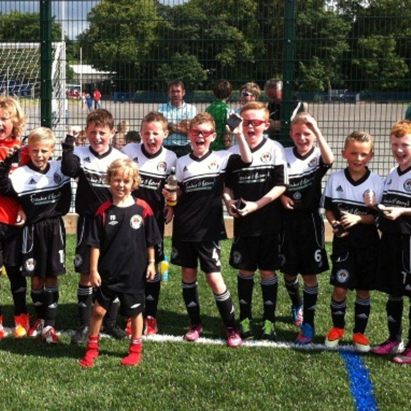 Foyle Cup Winners!