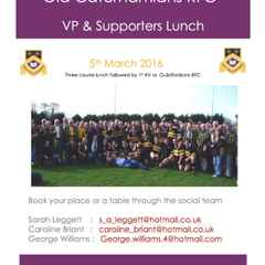OCRFC VP & Supporters Lunch