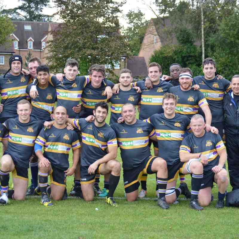 OCRFC - 1st XV vs Old Glynonians 071017