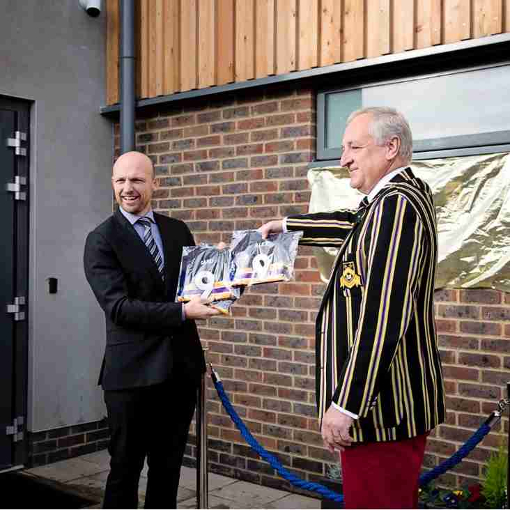 New Sports Pavilion Opening