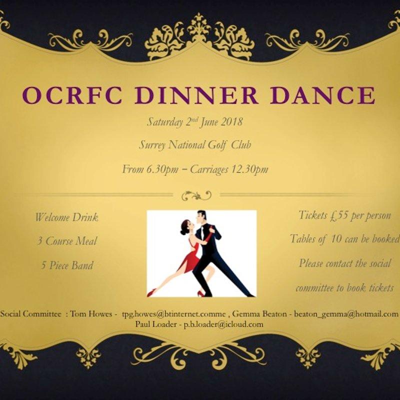 OCRFC Summer Ball