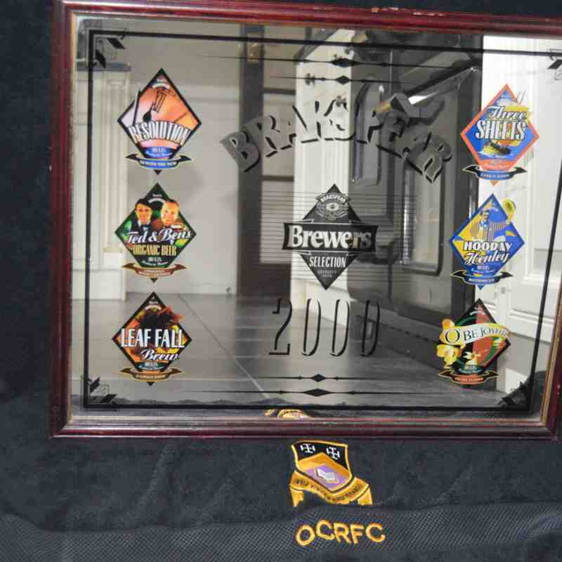 OCRFC Memorabilia Auction Items