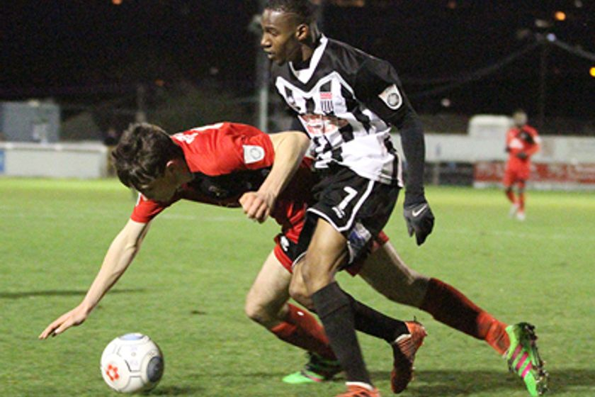 Sports on top at Twerton in 1-0 win