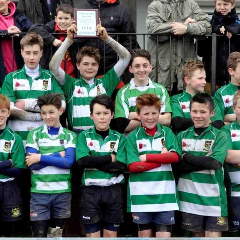 Folkestone Under 13's WIN (53-0) East Kent Plate Final v Sittingbourne at Ashford RFC