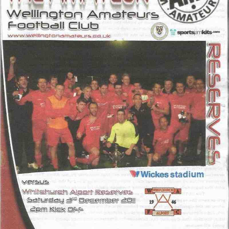 Ams Reserves Programme Covers