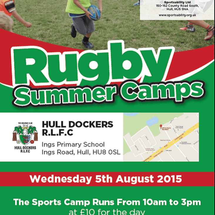 Hull Dockers Rugby Camp