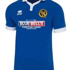 Bluebells Bar Unveiled as Paget's Away Shirt Sponsor