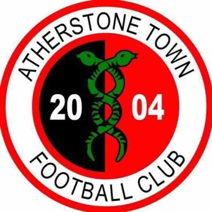 Atherstone Town 1-1 Paget Rangers