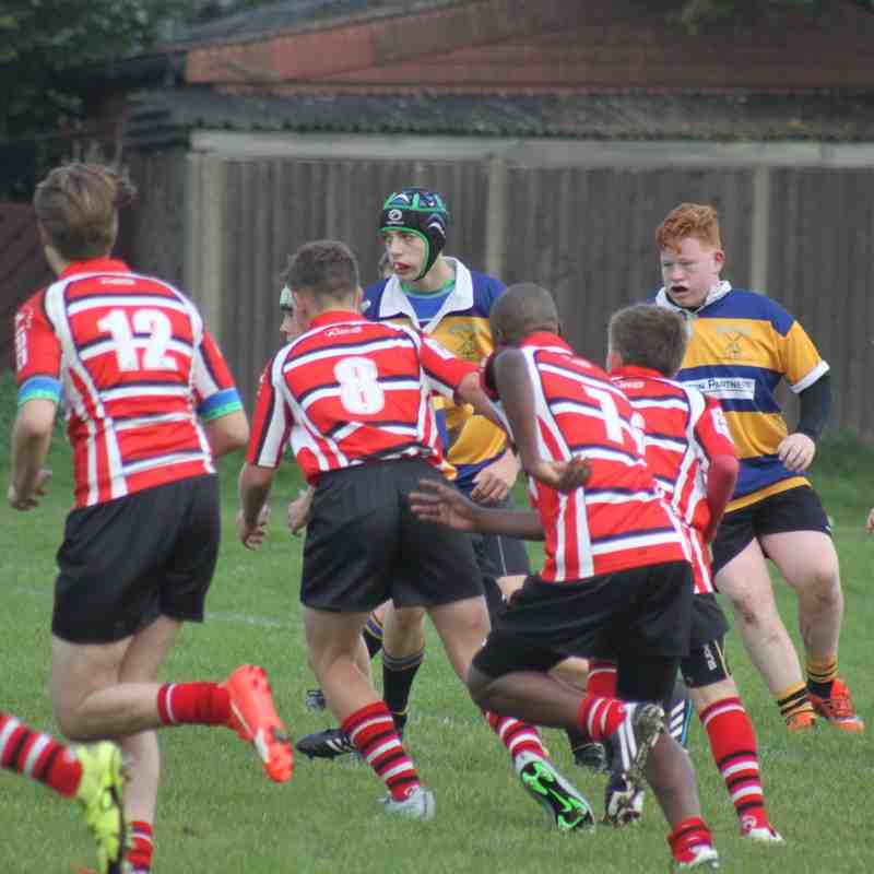Upminster U15s v Stanford U15s part1